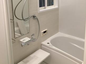 バスルームリフォーム 冬になっても寒さの心配がいらない浴室