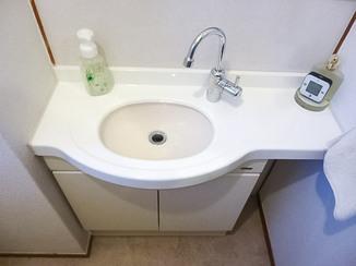 小工事 今あるものを美しく。塗装でよみがえった洗面台