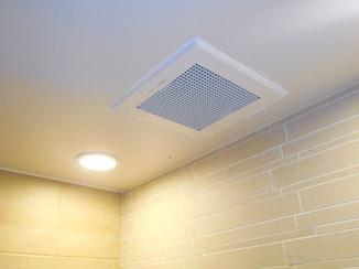 小工事 つけていることを忘れるほど作動音が静かな浴室換気扇