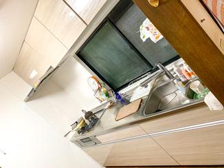 キッチンリフォーム 収納力を強化して一新した水廻り設備