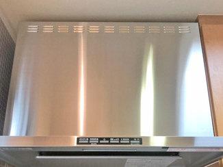 キッチンリフォーム 分解のしやすい構造で掃除がはかどるレンジフード