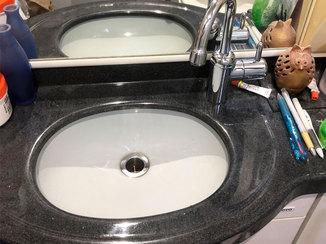 小工事 トイレ水栓の使用感はそのままに、不便改善