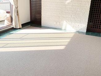 内装リフォーム モダンなお部屋に調和するカーペットの床