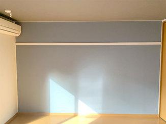 内装リフォーム アクセントクロスがカッコいい賃貸のお部屋