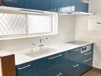 キッチンリフォーム ガラリとイメージが変わった使いやすいキッチンと、あわせて取り替えた2つのトイレ