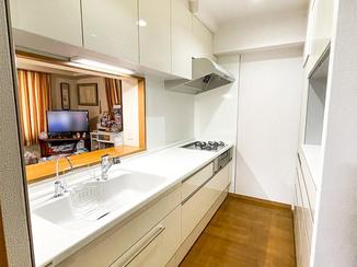 キッチンリフォーム 収納が使いやすくお掃除がラクなキッチン