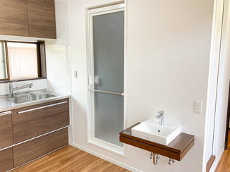キッチンリフォーム スペースを有効活用した二世帯住宅のお部屋